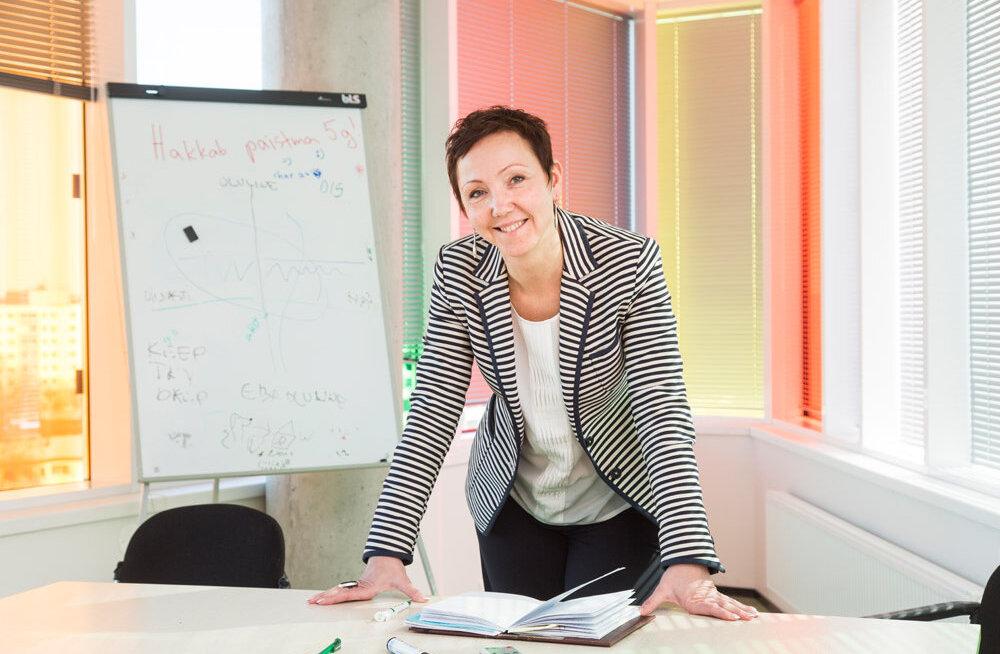 Руководитель сферы IT Eesti Energia Агнес Роос выбрана самым влиятельным руководителем в области IT
