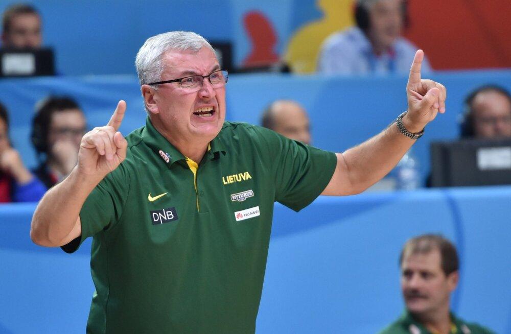 Leedu peatreener Jonas Kazlauskas