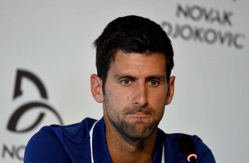 Serbia tennisetäht Novak Djokovic