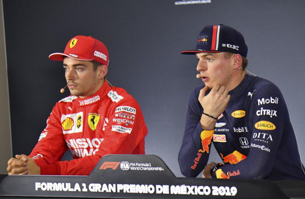 Leclerc vastas Verstappeni süüdistustele: tal pole aimugi, millest räägib!