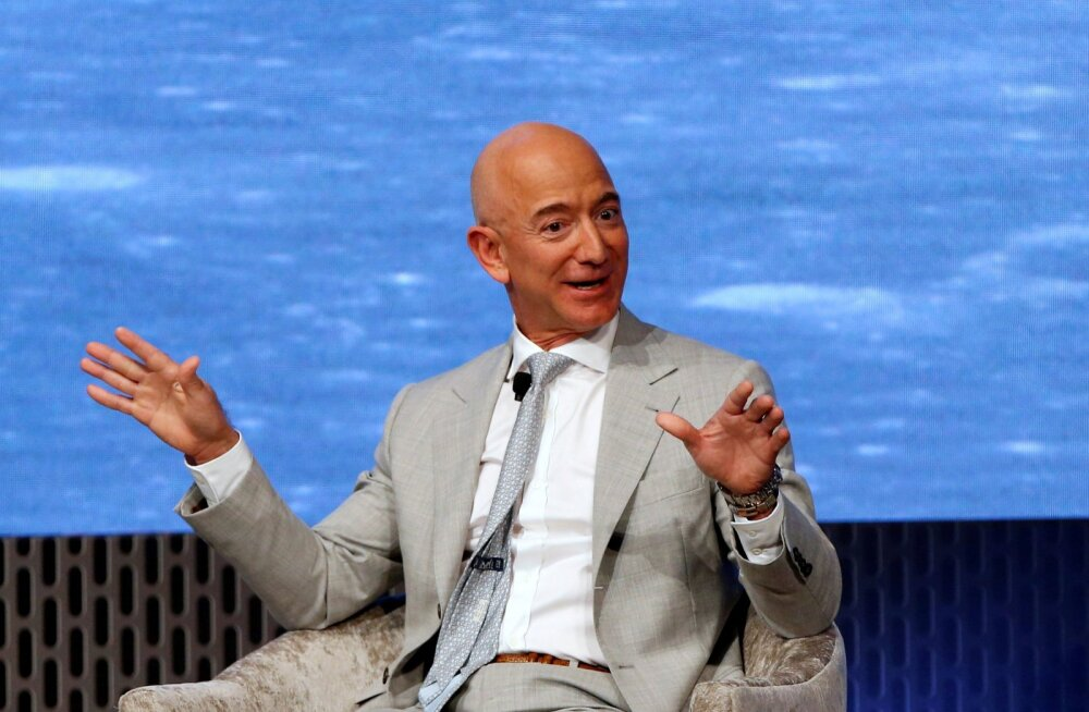 Amazoni asutaja ja tegevjuht Jeff Bezos