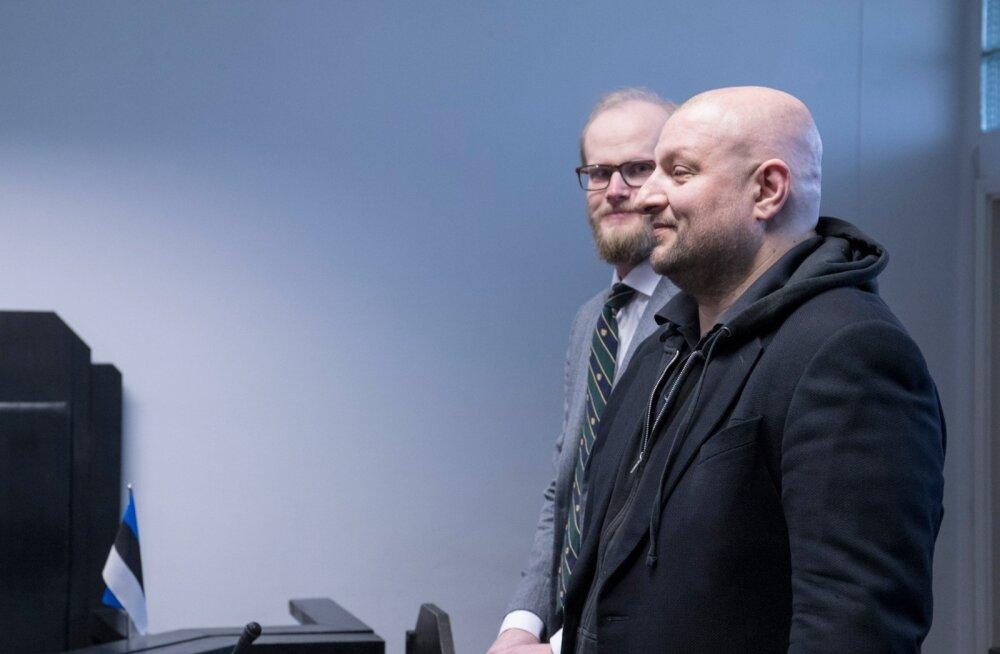 Kaur Kender ja tema kaitsja Paul Keres kevadel kohtus