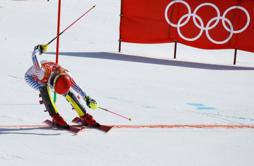 Mikaela Shiffrin finiššeerimas