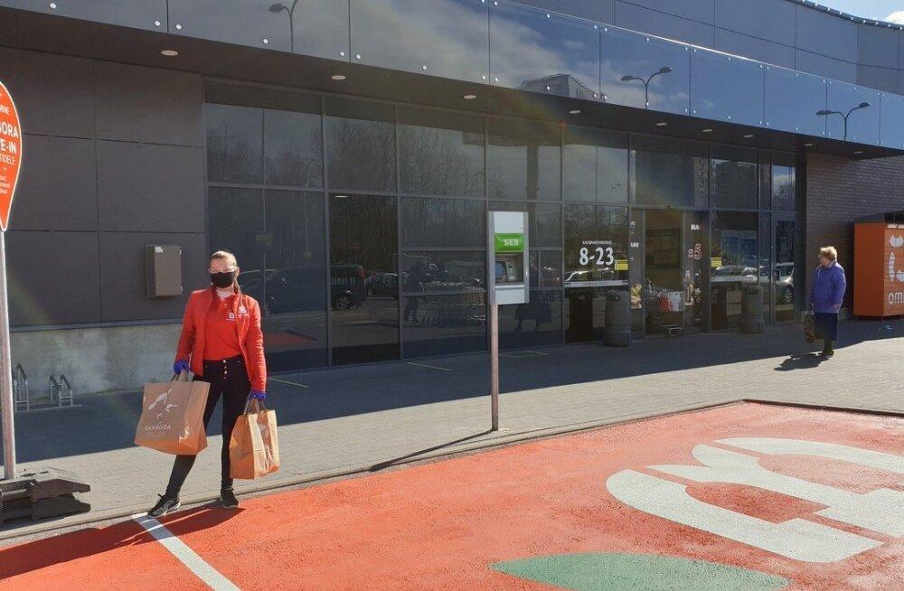 Магазин Barbora открыл в Таллинне два пункта выдачи заказов drive-in