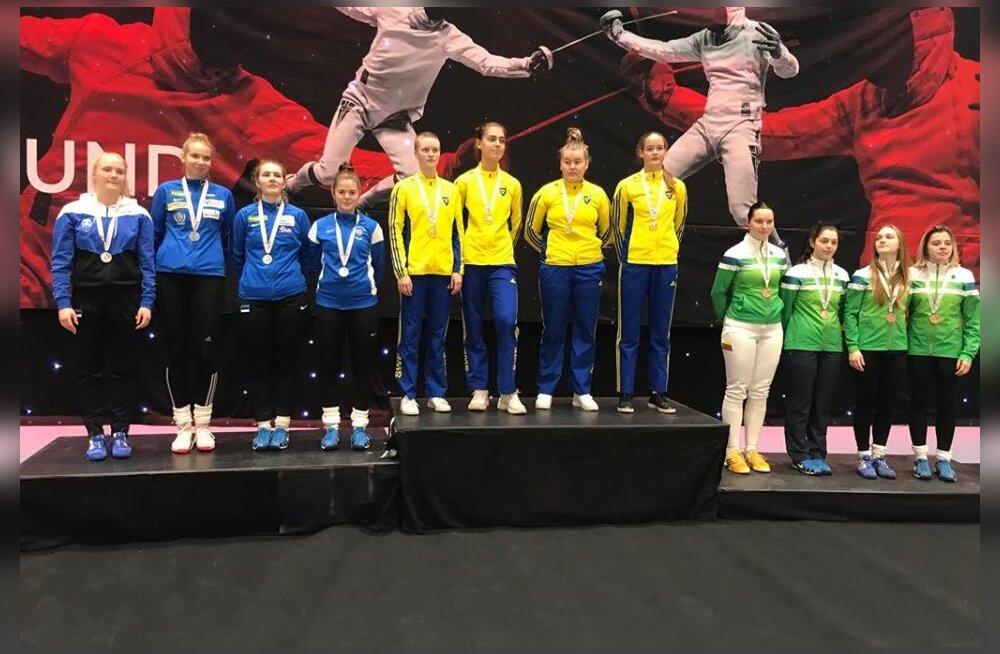 Eesti juunioride võistkonnad saavutasid Norras peetud Põhjamaade Meistrivõistlustel teise koha