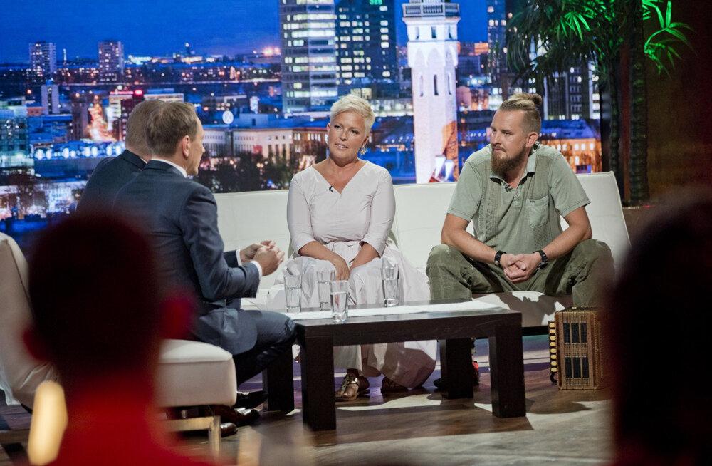 Evelin Ilves ilmub esimest korda televaatajate ette koos oma partneri Siim Rikkeriga