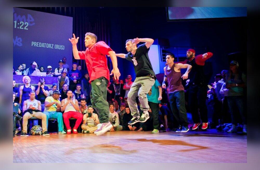 В Тарту пройдет неофициальный чемпионат мира по брейку и уличным танцам
