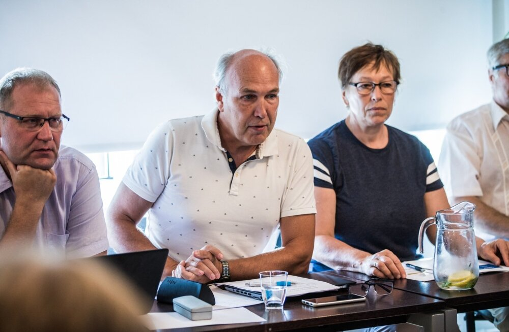 Maaelukomisjoni esimees Aivar Kokk.