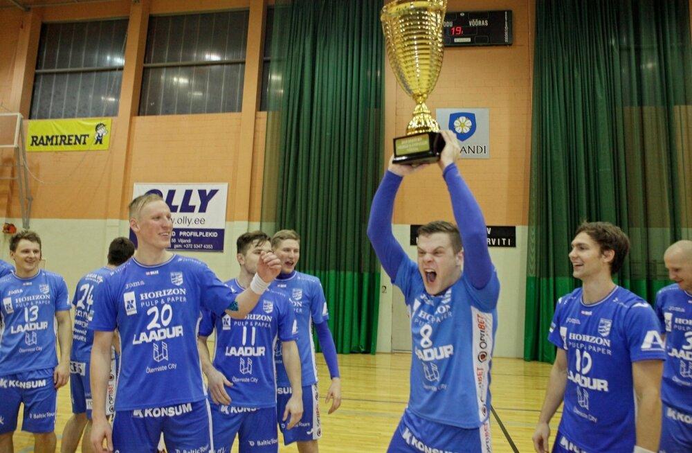 Eesti meeste käsipalli karikavõistluste finaal Põlva Serviti vs Kehra