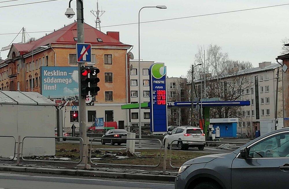 Bensiini hind 25.02