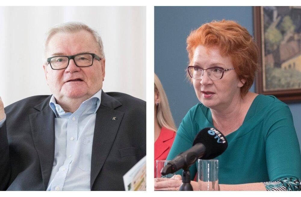 Edgar Savisaar ja Yana Toom