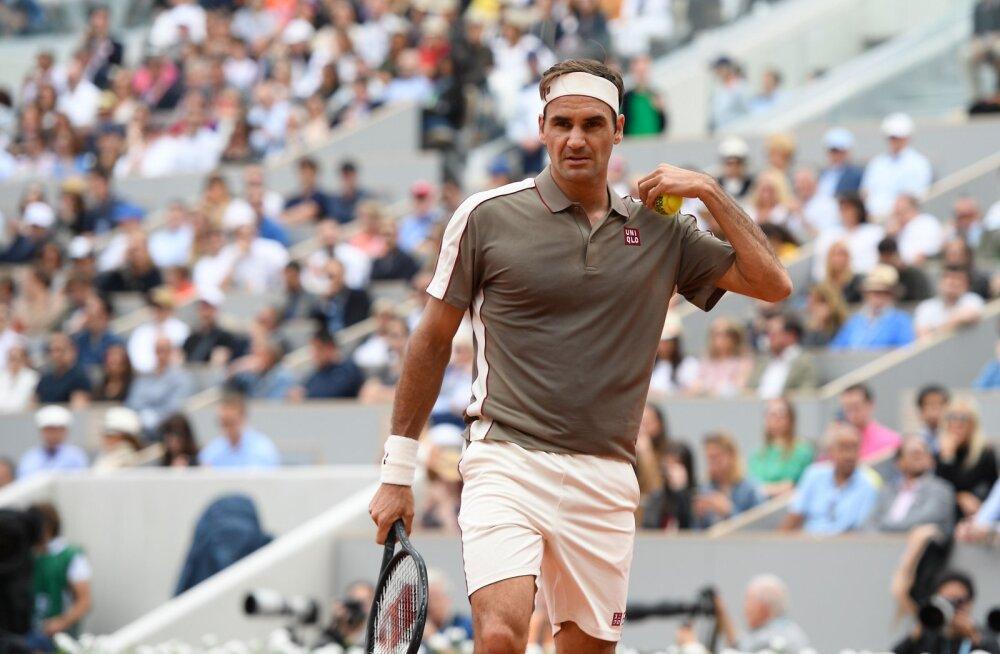 DELFI PARIISIS | Endine maailma viies reket ei soovitaks ühelgi tippmängijal Federeri eeskuju järgida