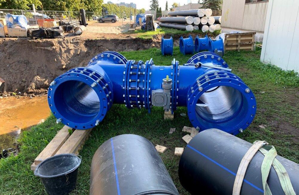 100 000 Lasnamäe ja Maardu elanikku sai töökindlama veevarustuse