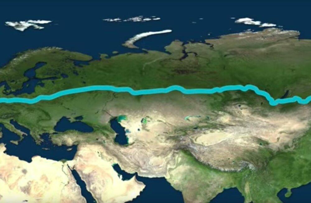 Suur TEST | Kas tead, mis on kõige pikem distants, mis on planeedil Maa võimalik autoga läbida?