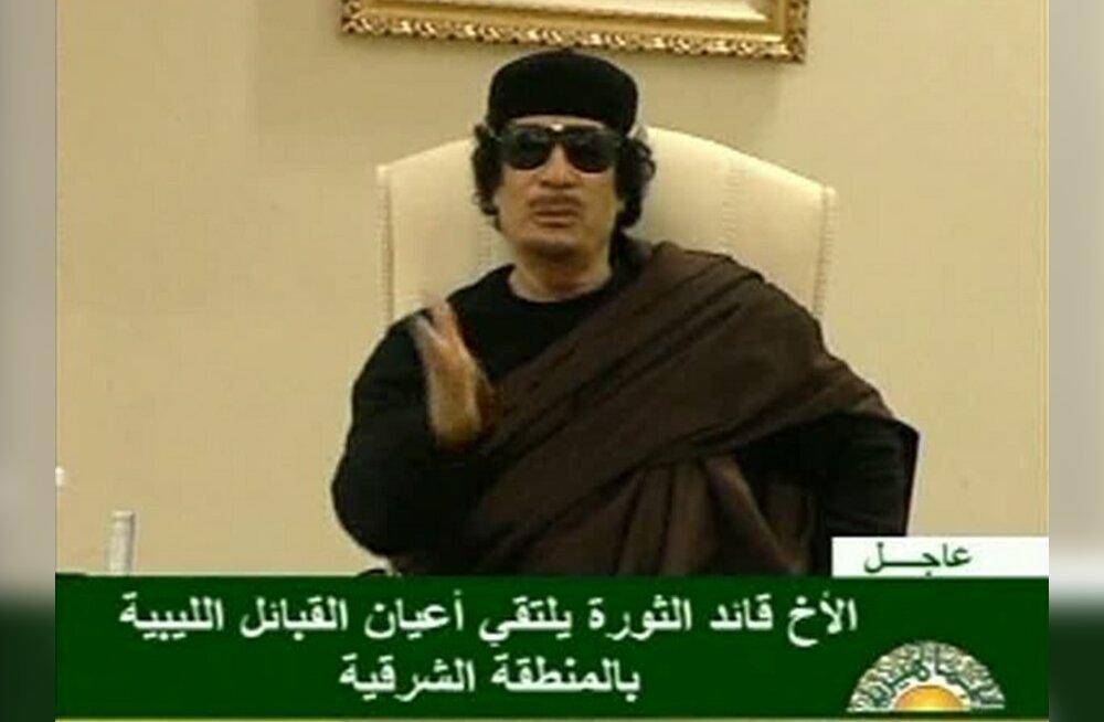 Türgi lubas aidata Gaddafil maapakku minna