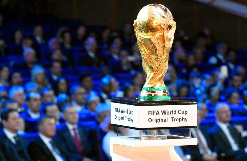 Jalgpalli MMi loosimine Moskvas