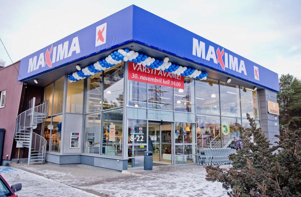 В Нымме открылся 80-й по счету магазин Maxima в Эстонии