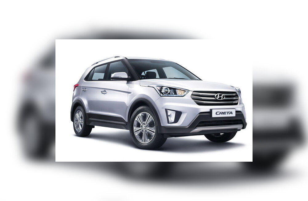 Hyundai esitles krossoverit Creta, saadaval esialgu ainult Indias