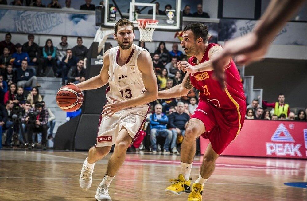 Janis Strelnieks MM-valikmängus Montenegro vastu