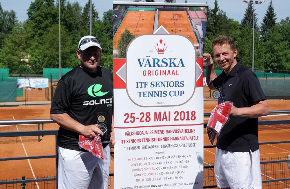 FOTO | Tartus toimus esmakordselt suvine rahvusvaheline seenioride tenniseturniir
