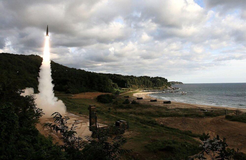 Põhja-Korea jätkab tuumarelva testimist ja saatis veel ühe raketi Jaapani suunas – Lõuna-Korea vastas oma raketiga