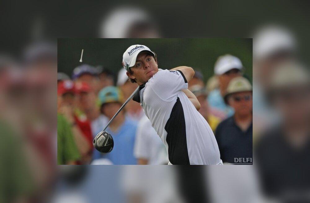 US Mastersit juhib kahe päeva järel Rory McIlroy