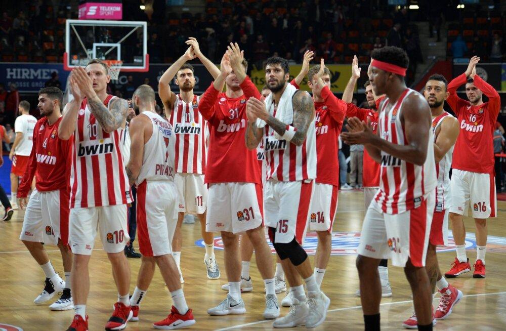 Pireuse Olympiakos keeldus Panathinaikosega mängimast ning kukutatakse Kreeka esiliigasse