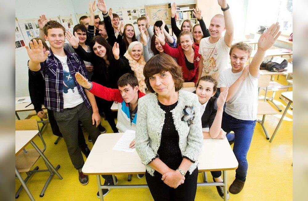 Eha Hergauk: noored õpetajad peavad hakkama ise enda eest seisma