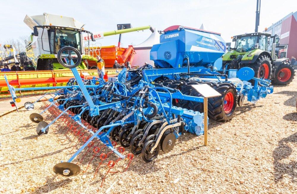 Mullusel Maamessil pakuti laia valikut põllutöömasinaid, kuid nende investeeringutoetusega soetamiseks peavad seadmed olema PRIA hinnakataloogis kirjas.