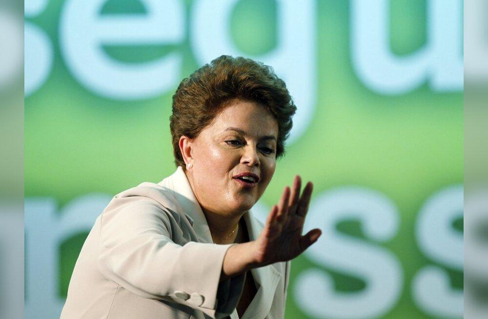 Lõuna-Ameerika suurriik Brasiilia sai esimese naispresidendi