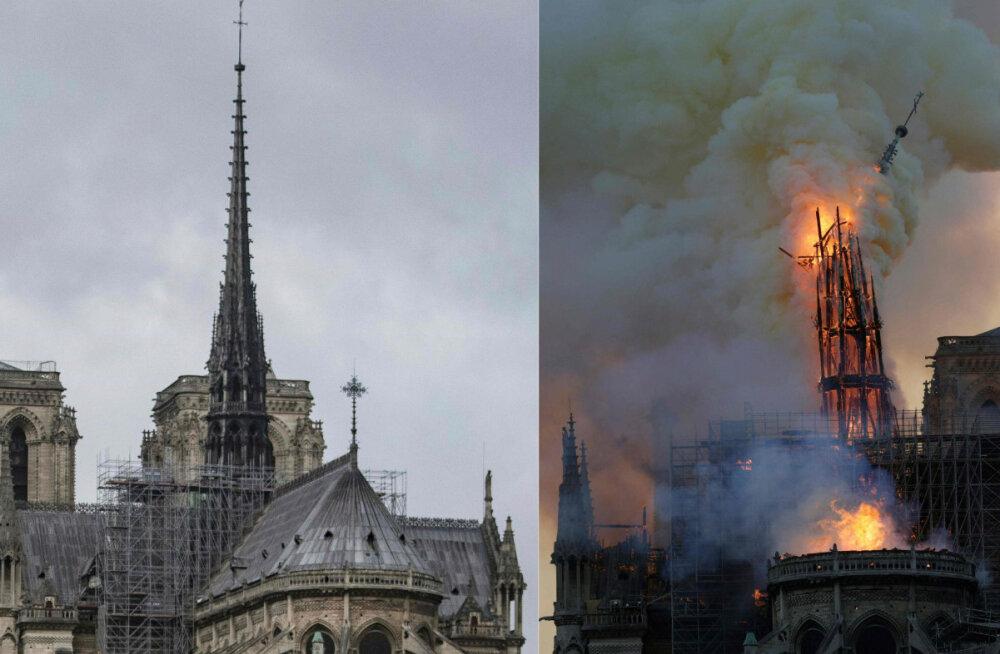 ГАЛЕРЕЯ: Смотрите, что удалось спасти после разрушительного пожара в соборе Нотр-Дам