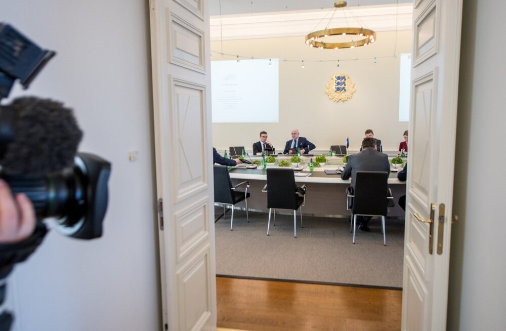 Koalitsiooniläbirääkimised Stenbocki majas