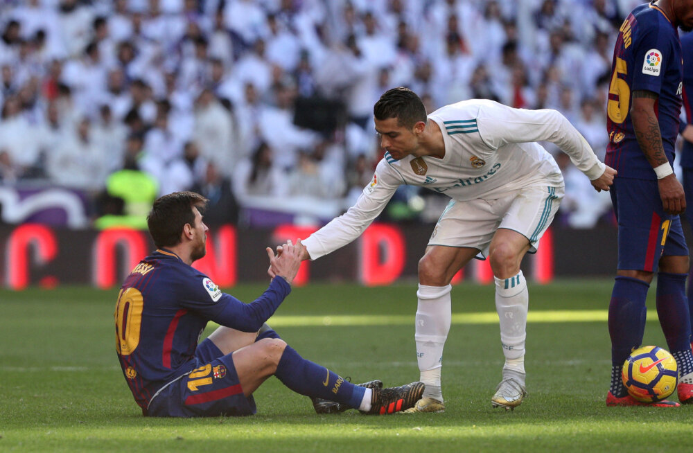Cristiano Ronaldo: me teeme Messiga üksteist paremaks