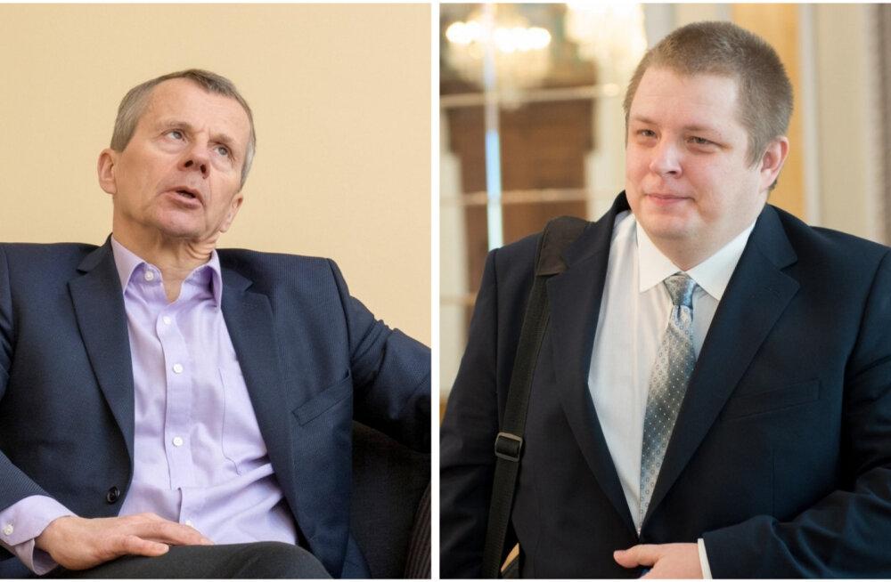 Jürgen Ligi nähvas riigieelarvest rääkivale Erki Savisaarele: mida sa podised, ära targuta!
