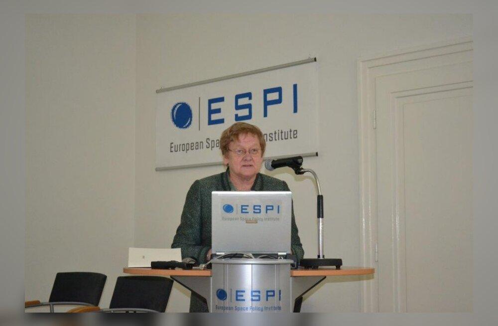 Выступление Эне Эргма на заседании ЕИКП в 2012 году