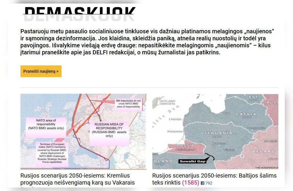 Leedu Delfi pakub kogu euroliidule uut libauudiste tuvastamise platvormi