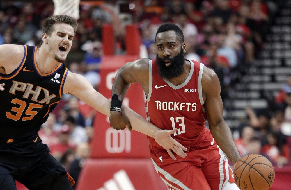 VIDEO | Rockets püstitas uhke NBA rekordi, kaks meeskonda kindlustasid koha play-off'is
