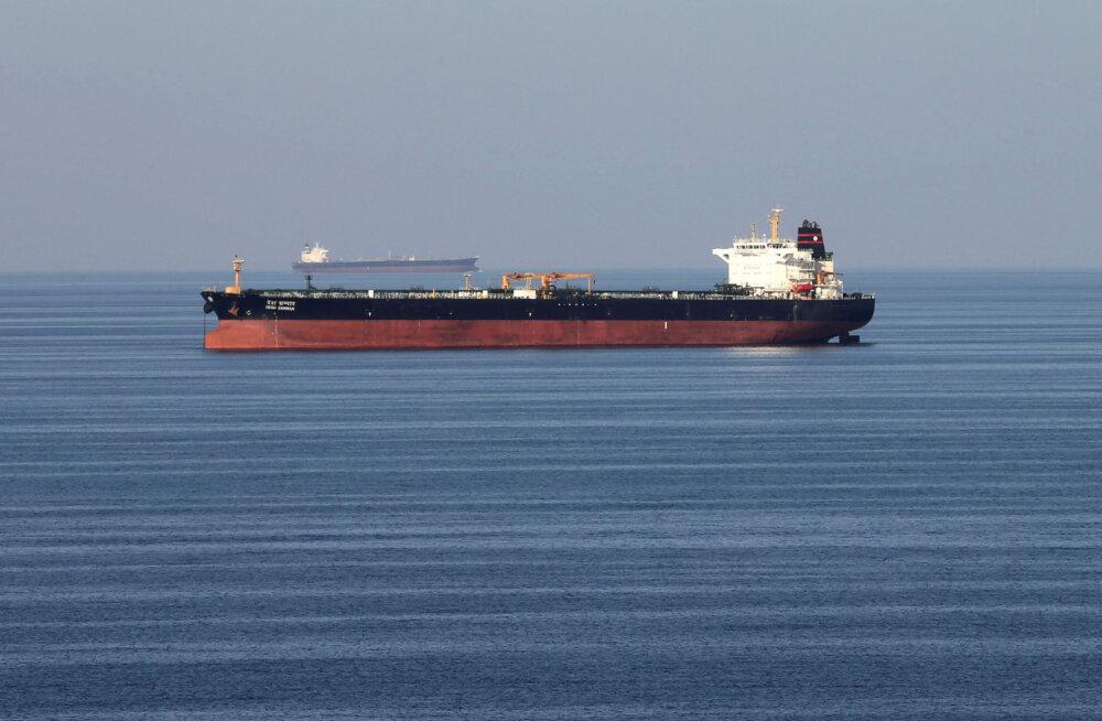 Iraani laevad üritasid hõivata Briti naftatankerit