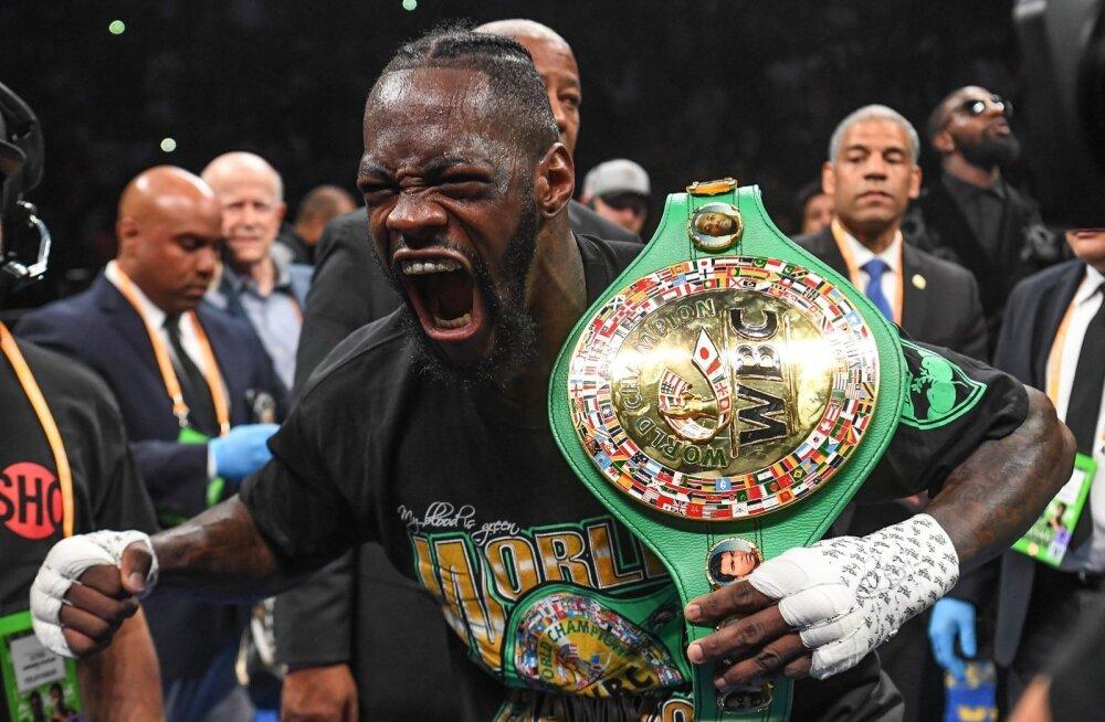 Deontay Wilderi valduses on WBC meistrivöö.