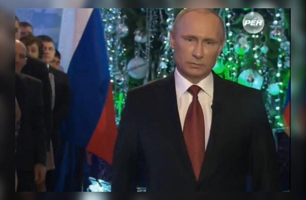 ВИДЕО: Путин записал второе новогоднее обращение — в дни испытаний Россия всегда становилась единой