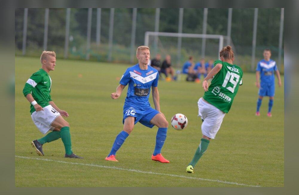 FC FLora II vs Tartu Tammeka