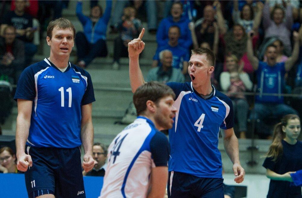 Võrkpall Eesti v Rootsi