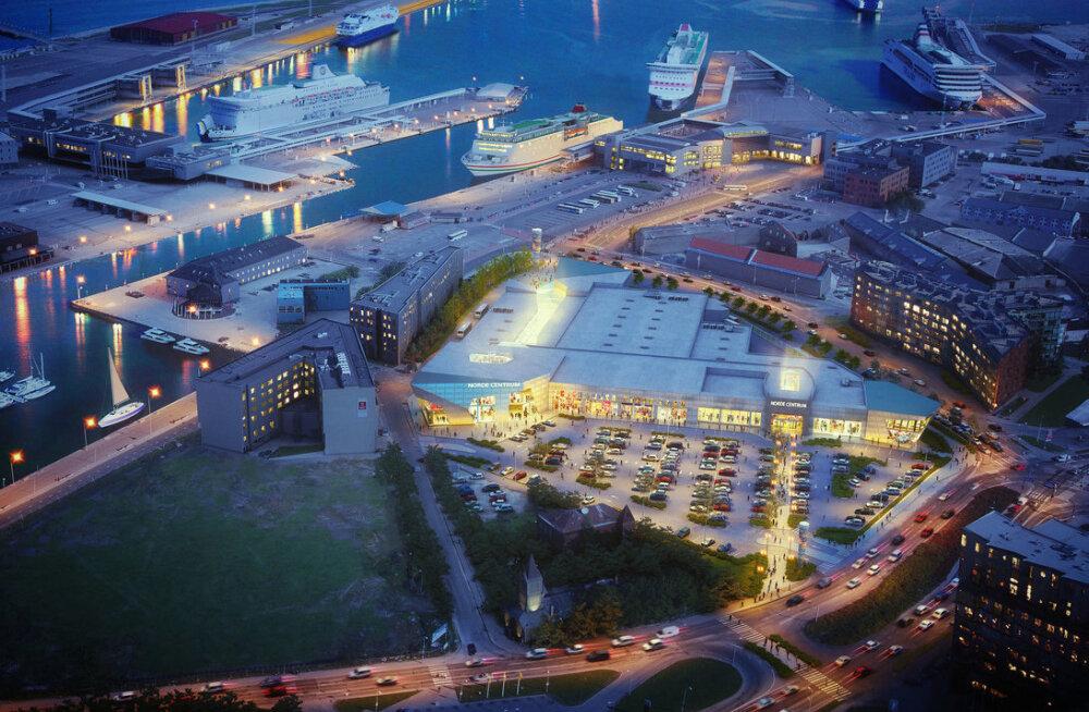Tallinna sadamaalal avab sügisel uksed Nautica kaubanduskeskus