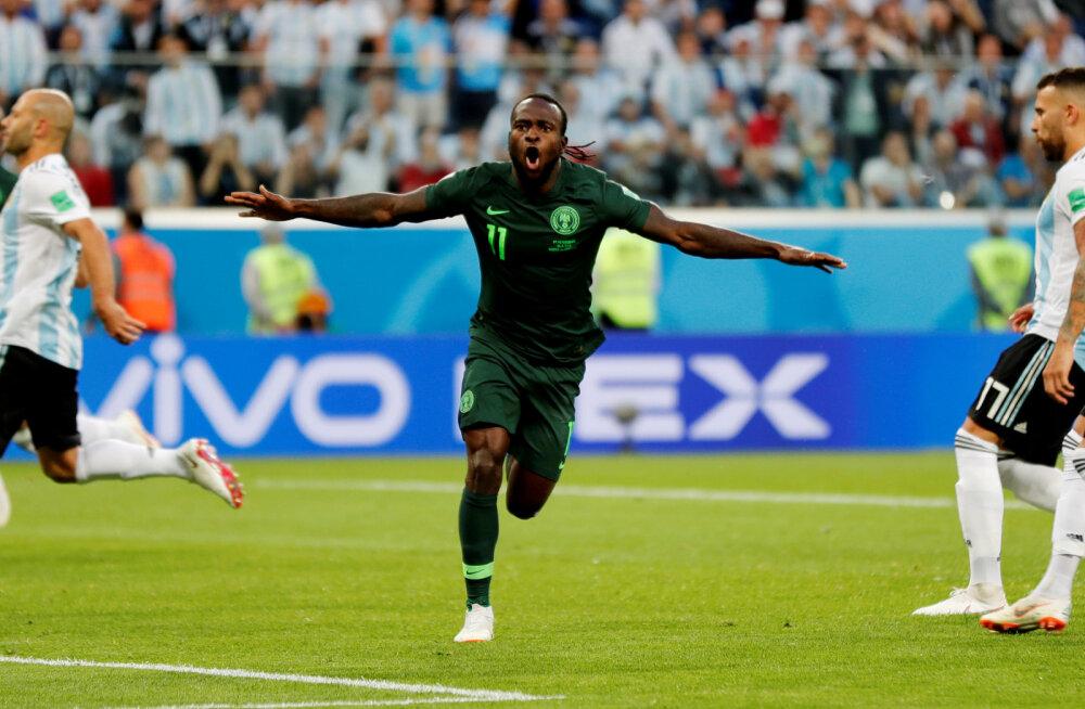 Victor Moses (Nigeeria) 2018. aasta MMil