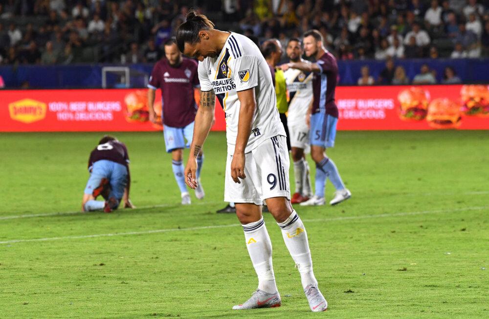 Zlatan Ibrahimovic: LA Galaxy ei vääri play-offi jõudmist