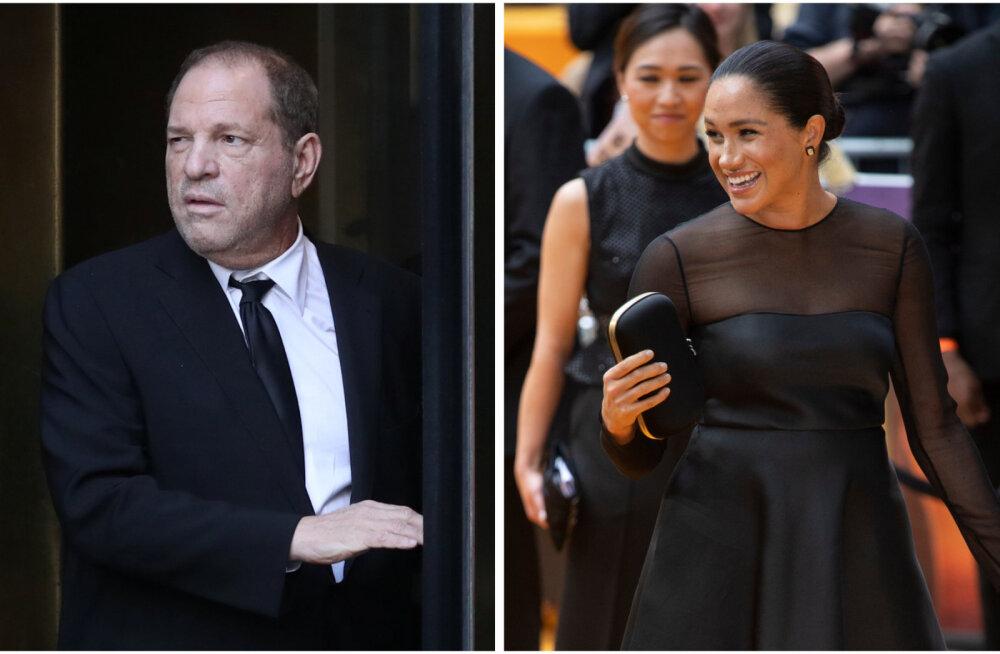 PALJASTUS   Hertsoginna Meghanil ja häbistatud Harvey Weinsteinil on üks üllatav side