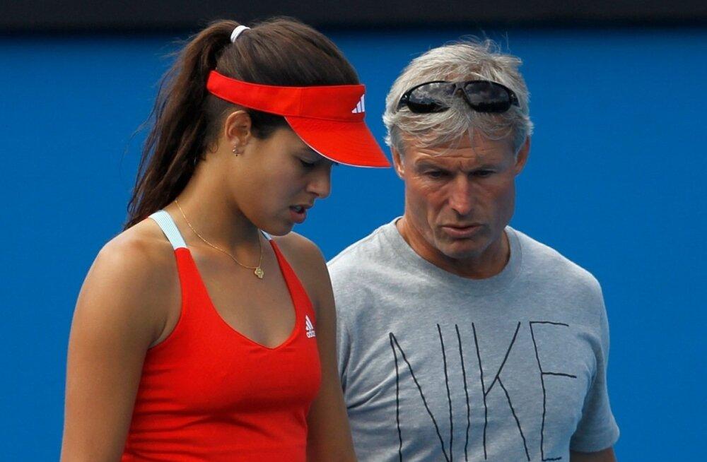 Nigel Sears on kahel korral koostööd teinud endise maailma esireketi ja 2008. aasta Prantsusmaa lahtiste võitja Ana Ivanovićiga.