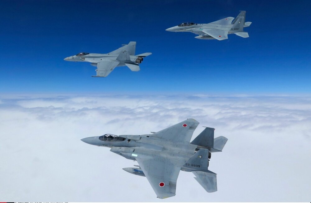 Jaapani hävitajaid on Vene ja Hiina sõjalennukitele vastu saadetud külma sõja tippaja tasemel