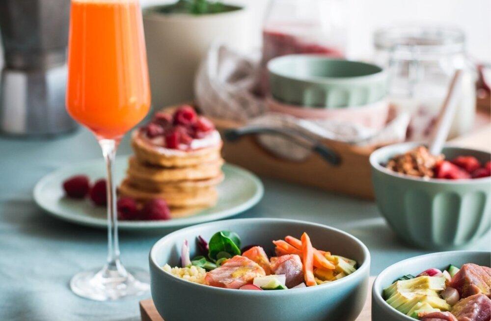 RETSEPTID: unusta argikiire ja naudi pikka hommikut küllusliku laua taga