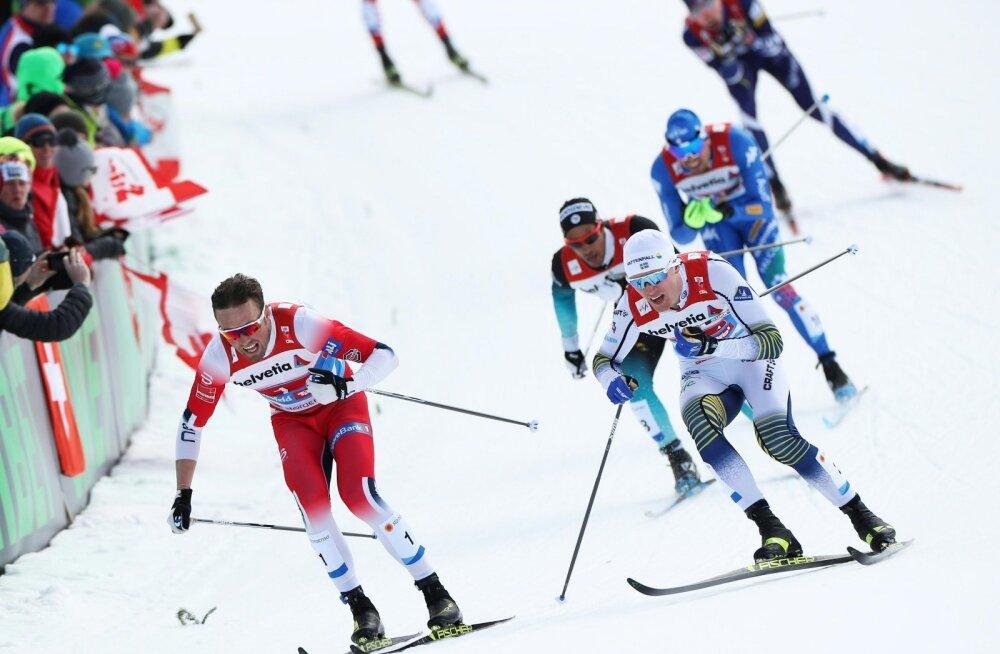 BLOGI | Seefeldi MM-il läksid paarissprindi kullad Rootsi ja Norra, Ränkel ja Kilp finaali ei pääsenud